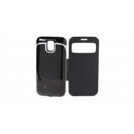 2-in-1 5500mAh External Battery Flip-open Leather Case for Samsung S4 i9500