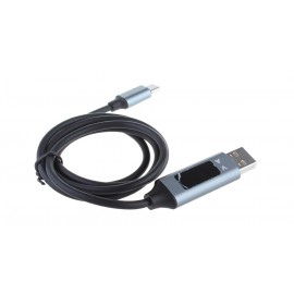 TOPK J66NU USB-C to USB 2.0 Braided Data & Charging Cable (100cm)