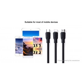 Authentic aWEI CL-986 3-in-1 Data Sync / Charging Cable (100cm)